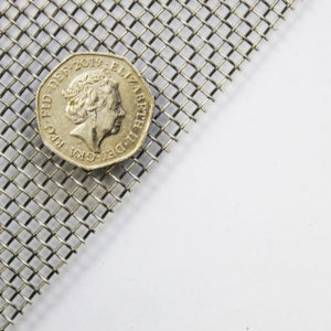 stainless steel 304 grade 8 LPI 0.9mm wire mesh