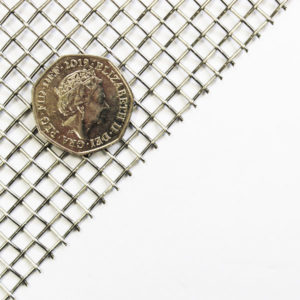stainless steel 316 grade 5 LPI 1mm wire 4.08mm hole mesh