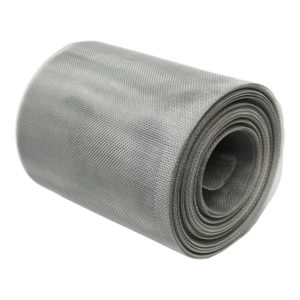 aluminium insect mesh 18 x 16 LPI 0.28mm wire 1.13mm x 1.31mm hole soffit roll 45 degrees