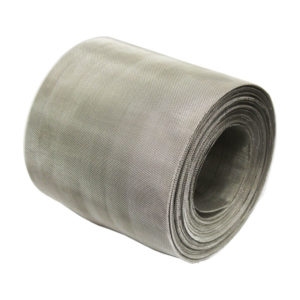 stainless steel midgemesh 30 LPI insect mesh 0.28mm wire 0.57mm hole soffit 45 degrees