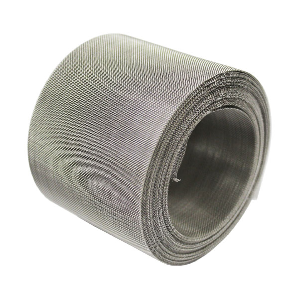 stainless steel midgemesh 40 LPI insect mesh 0.22mm wire 0.42mm hole soffit 45 degrees