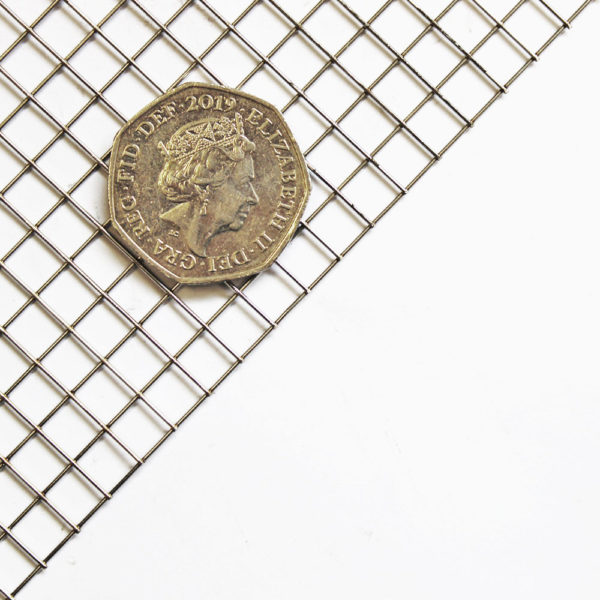 stainless steel 304 grade 1-4 inch rat mesh coin