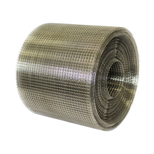 stainless steel 304 grade 1-4 inch ratmesh 30m x 200mm roll