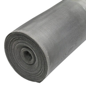 aluminium insect bug mesh 18 x 16 LPI 0.28mm wire 1.13mm x 1.31mm hole full roll 45 degrees