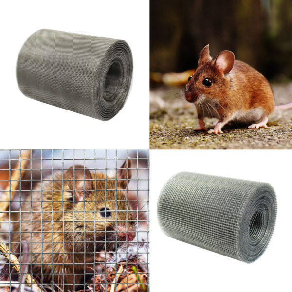 Rodent and rat mesh for soffits and air vents