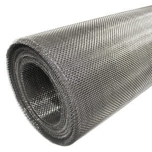 stainless steel 6 LPI rodent mesh 0.9mm wire 3.33mm hole 45 degrees