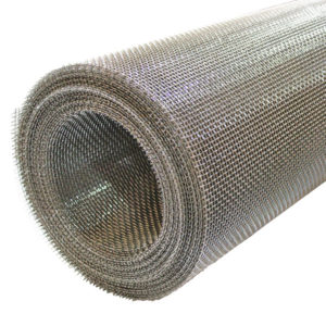 stainless steel rodent mesh 4 LPI 1.2mm wire 5.15mm hole full roll 45 degrees
